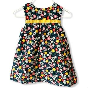 Baby Boden | Floral Corduroy Dress (6-12 mos) 🌹